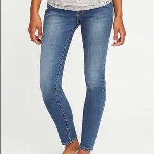 Maternity premium rockstar skinny jeans